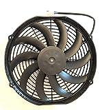 SPAL 30101522 12' Fan Puller Curved Blades 12 Volt High-Performance 1226 cfm VA10-AP50/C-61A