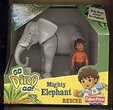 Fisher Price, Go Diego Go * Mighty Elephant Rescue * Mattel figura de acción