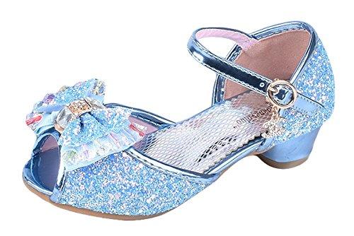 La Vogue Zapatos Lentejuela Niña Princesa Zapatilla