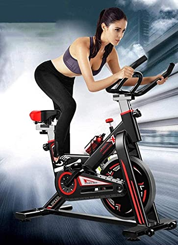 Fitness Bike Home Sports Fitness Bike Ultra-Silent Magnetic Control Interior Weight Loss Spinning Bike Variable Speed Speed