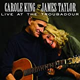 "album cover: James Taylor and Carol King ""Live At The Troubadour (CD +DVD)"""