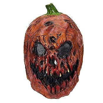 Halloween Decoration Pumpkin Head Latex Masks