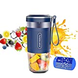 Portable Blender, Cordless Personal Blender Juicer, Mini Mixer, Waterproof Smoothie Blender With USB...