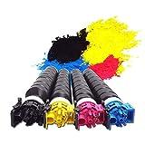 Reemplaza el alto rendimiento compatible con el cartucho de tóner KYOCERA TASKalfa 3252ci (negro cian amarillo magenta, paquete de 4)-fourcolors