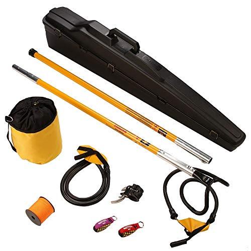 Notch Set1025 Big Shot Throw Line Launcher Deluxe Kit, Black/Yellow