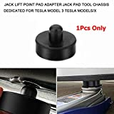 VXDAS 1Pcs Jack Lift Pad Point Adapter for Tesla Model 3, Protects Battery and Paint Safely Raising Vehicle