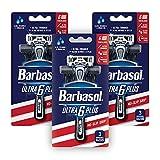Barbasol Ultra 6 Plus Premium Disposable Razor...