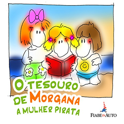 O Tesouro de Morgana, a mulher pirata audiobook cover art