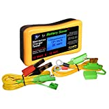 Battery Saver 1200-LCD 12W Pulse Battery Maintainer/Charger/Tester with Battery Rescue