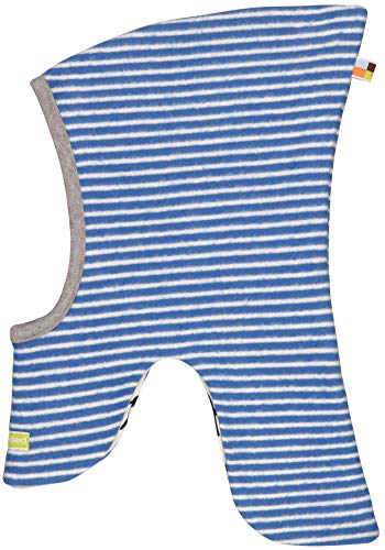loud + proud Baby-Unisex Schlupfmütze Fleece Aus Bio Baumwolle, GOTS Zertifiziert Mütze, Blau (Cobalt Cob), 41/43 (Herstellergröße: 74/80)