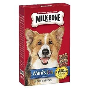 Milk-Bone Dog Snacks – Mini's Flavor Snacks 15 oz