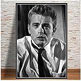 A&D James Dean Movie Actor Poster Wandkunst Bild Poster und