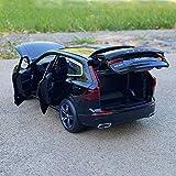 GUANGYING 1:32 Volvo Xc60 SUV Tout-Terrain Alliage De Voiture Modèle De Simulation De Modèle en Métal Jouet De Voiture Ornements Son Et Lumière Tirez en Arrière