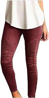 XINHEO Women Stretchy Fabric Bodycon Fashionable Casual Cropped Leggings