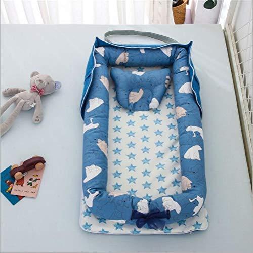 Bébé moïses Lit bébé Portable Chaise Longue for Nouveau-né Berceau Respirant et Sommeil Nest (Color : A10)