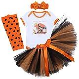 FYMNSI Baby Girl Halloween Outfit Newborn Infant My First Halloween Tutu Skirt Pumpkin Cotton...