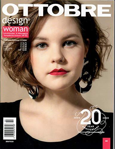 OTTOBRE Schnittmusterheft Design - Woman - Ausgabe 2/2020