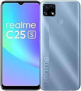Realme C25s- 6.5-inch 64GB/4GB Dual SIM Mobile Phone-Water Blue