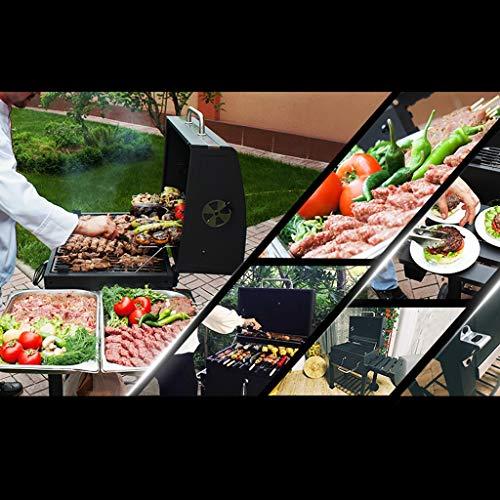 515AvyZyskL - ChangDe - Weber Holzkohlegrills BBQ Grill - Verdicken Sie tragbare Grillhausgarten Holzkohle große kommerzielle rauchlose Grillauto im Freienvilla