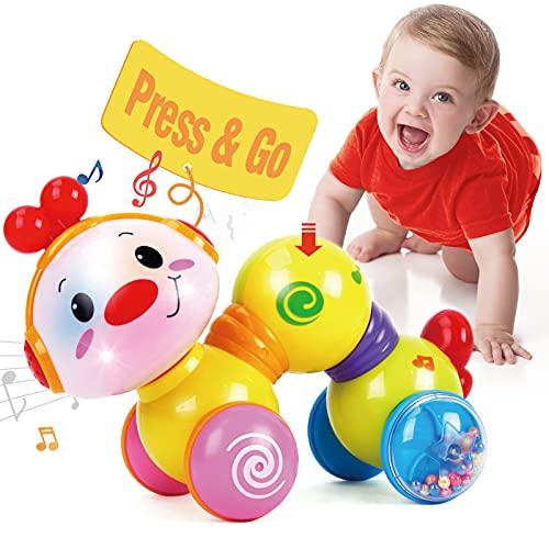 CubicFun Baby Musik Spielzeug für 6 Monate, Kriechendes und Singendes Musikalisches Babyspielzeug für Kleinkinder für 6 9 12 Monate Junge Mädchen