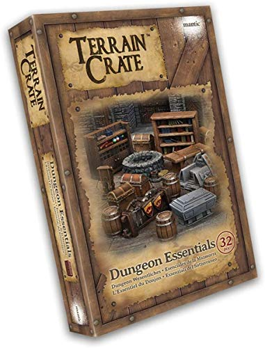 Mantic Games MGTC103 TerrainCrate: Dungeon...