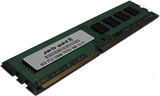 8GB DDR3 Memory Upgrade for Supermicro X9SRE Motherboard, X9SRE-3F, X9SRE-F, X9SRG-F, X9SRH-7F, X9SRH-7TF, X9SRi, X9SRi-3F, X9SRi-F, X9SRL-F, X9SRW-3F, X9SRW-F Motherboard PC3-12800E ECC Unbuffered DIMM 240 pin 1600MHz RAM (PARTS-QUICK BRAND)