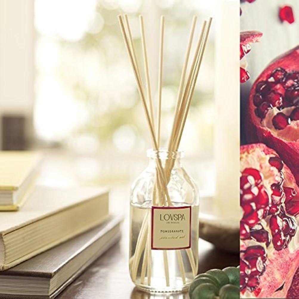 カロリー浸す荒れ地ホワイトザクロReed Diffuser Set by lovspa |美しい香りベルガモット、ホワイトザクロ、ホワイトローズ、Cedar Wood, Wild Black Currant &サンダルウッド|長持ち。| Made in the USA