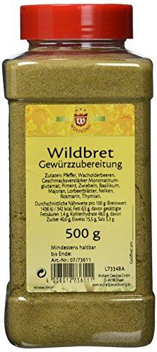 Wichartz Würzkönig Wildbret Gewürzzubereitung, 3er Pack (3 x 500 g)
