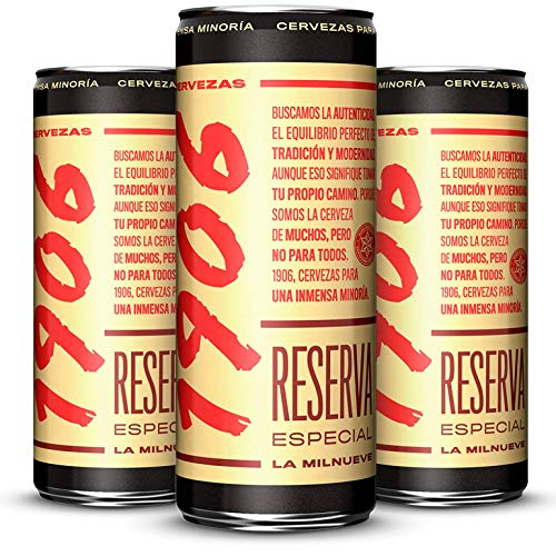1906 Reserva Especial Cerveza - Paquete de 24 x 330 ml - Total: 7,92 L