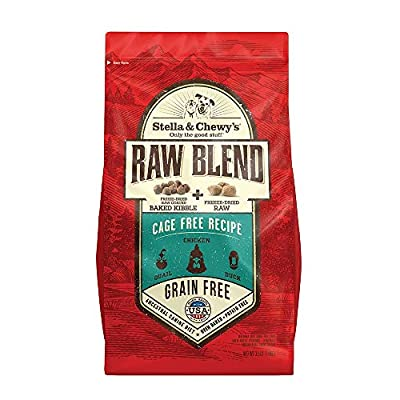 Stella & Chewy's Raw Blend Cage Free Recipe Dog Food 10lb