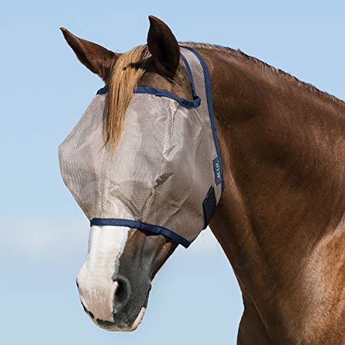 Horseware Fliegenmaske Mio Ohne Ohren - Bronze-Blue - Gr. Full