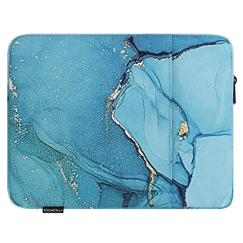 MoKo 11 Inch Tablet Sleeve Bag Carrying Case Fits iPad Pro 11, iPad 8th 7th Gen 10.2, iPad Air 4 10.9, iPad Air 3 10.5, iPad 9.7, Galaxy Tab A 10.1, Tab S6 Lite, S7, Fit Smart Keyboard, Fog Blue