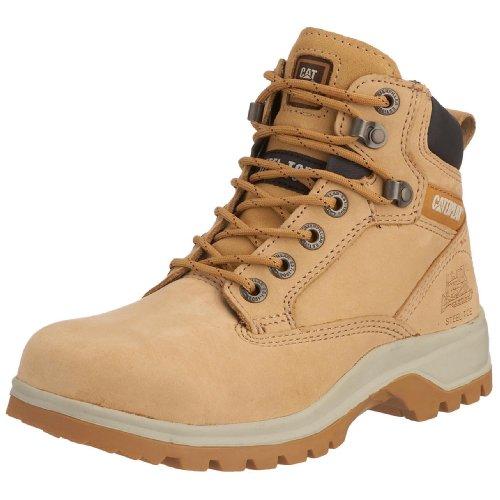 CAT Footwear Kitson Srx S1, Bottes de sécurité Femme, Beige (Honey), 41 EU
