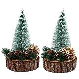 Árbol de decoración de Fiesta de Navidad Adorno de Mesa de Navidad Artificial Árbol de Navidad Sala de Estar Restaurantes Café Escritorio de Oficina(Warm Color)