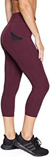 Rockwear Activewear Women's 7/8 Cross Pocket Tight from Size 4-18 for 7/8 Length High Bottoms Leggings + Yoga Pants+ Yoga Tights