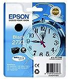 Epson 27X L DURABrite Ultra negro cartucho de tinta–Cartucho de tinta para impresoras Epson 27X L, negro, WF 36x x/7110/76x x, alto, Ampolla)