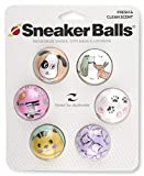 Sof Sole Sneaker Balls Shoe, Gym Bag, and Locker Deodorizer, 6 Pack, Dogs and Cats