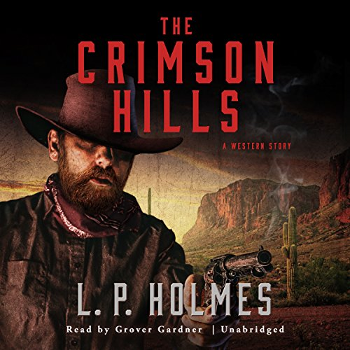 The Crimson Hills audiobook cover art