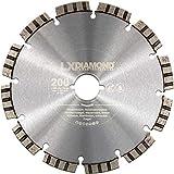 LXDIAMOND, disco diamantato di alta qualità, 200 mm, per cemento, muratura, pietra, adatto per fresatrice per finestre Lamello Tanga DX200, fresatrice di montaggio 200 mm