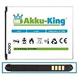 Akku-King Akku kompatibel mit Samsung EB-L1G6LLUCSTD - Li-Ion 2400mAh - für Galaxy S3, S3 Neo,...