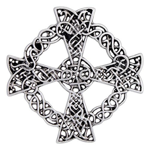 Ashling Aine Celtic Cross Pin/Pendant