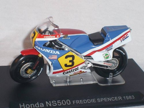 HONDA NS500 NS 500 FREDDIE SPENCER 1983 1/24 ALTAYA BY IXO MODEL MOTOR BIKE SPECIAL OFFER