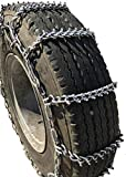 TireChain.com 265/75R22.5, 265/75 22.5 Studded Cam Tire Chains