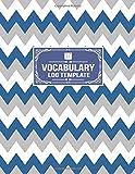 Vocabulary Log Template: Word Origin Translation Meaning Tracker Notebook