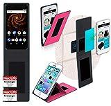 reboon Hülle für Allview X4 Soul Mini S Tasche Cover Case Bumper | Pink | Testsieger
