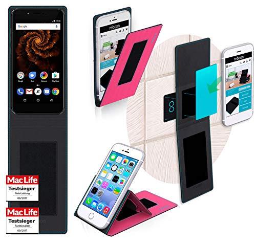 Hülle für Allview X4 Soul Mini S Tasche Cover Hülle Bumper | Pink | Testsieger