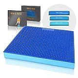 High Pulse® XXL Balance Pad mit Noppen inkl. 3X Fitnessbänder + Poster –...