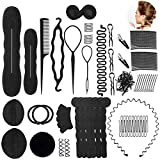 [page_title]-Haare Frisuren Set Umfangreich Haar Zubehör styling set für Unsterschiedliche Haarestyle, Hair Styling Tools mit Haar Clip, Hair Pins, Hair Styling Accessories....20 Arten Haare Frisuren Tool für DIY