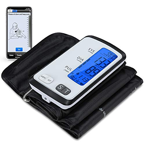 Blood Pressure Monitor Bluetooth with 8.7-16.5
