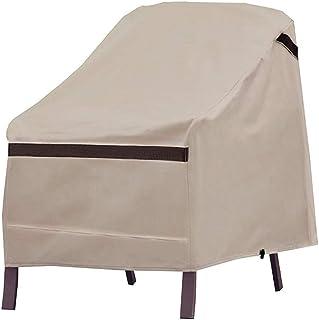 Nuport Patio Deep Chair Covers Waterproof Dust-Proof UV Patio Chair Covers Lawn Chair Covers Rip Resistant Outdoor Furintu...